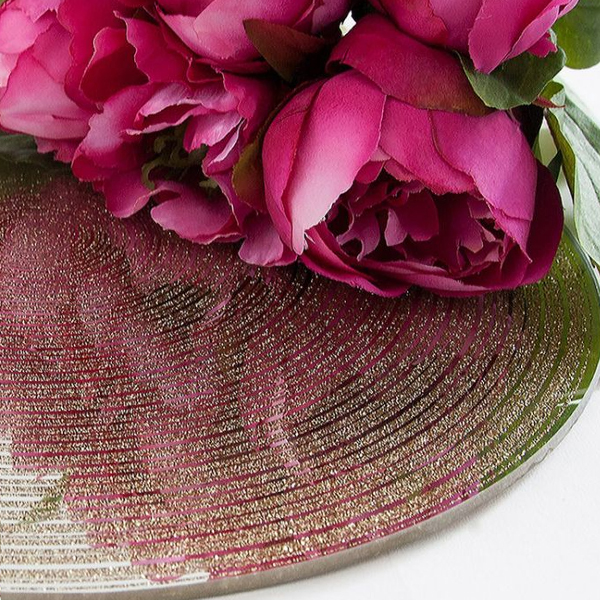 Mirror Plate Centrepieces