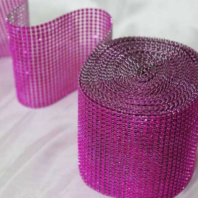 Mesh Roll - Hot Pink