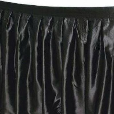 TABLE SKIRT BLACK