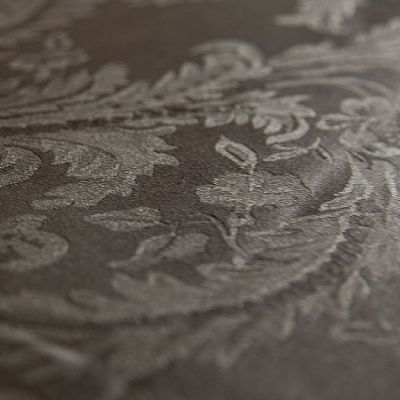 DAMASK 90 X 90 TABLECLOTHS BLACK
