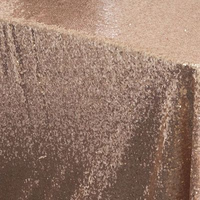 Sequin 70x144 Table Cloth - Blush Pink