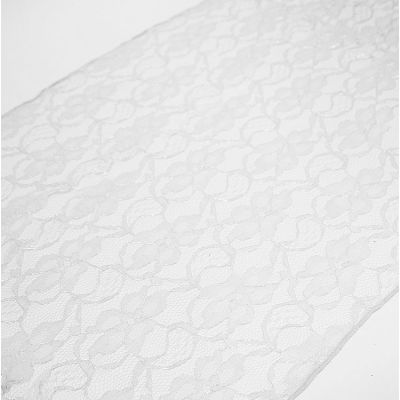 LACE TABLE RUNNERS WHITE