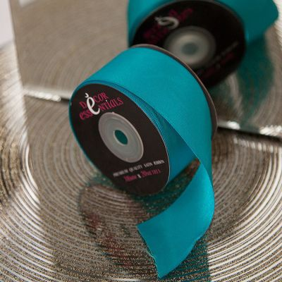 Decor Essential Satin Ribbon 38mm x 20m - Turquoise