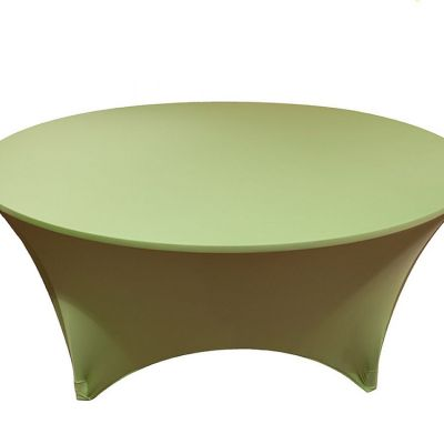 SPANDEX LYCRA ROUND TABLE CLOTH LIME