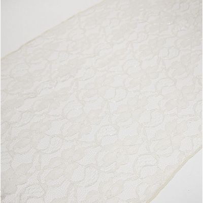 LACE TABLE RUNNERS IVORY