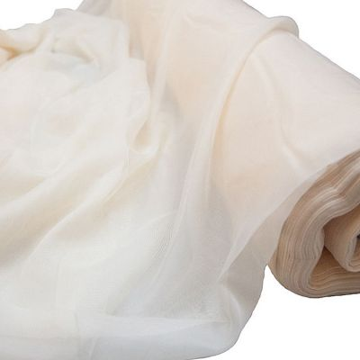 VOILE 1.5 50M FIRE RETARDANT ROLL IVORY