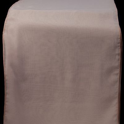 CHIFFON TABLE RUNNERS PALE PINK