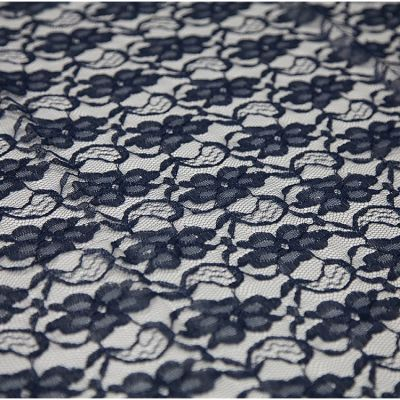 LACE OVERLAY NAVY