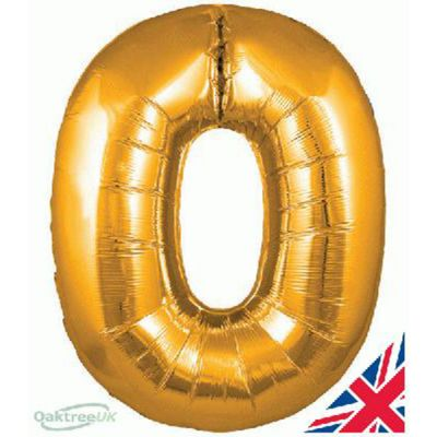 Balloon Number 0 - Gold