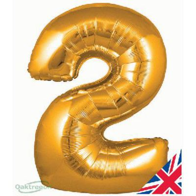 GOLD BALLOON NUMBER 2