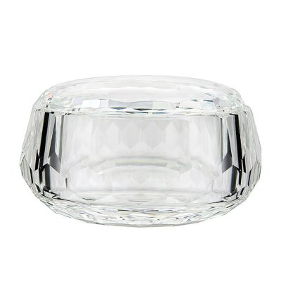 CRYSTAL CANDY DISH BOX WITH LID PACK OF 2