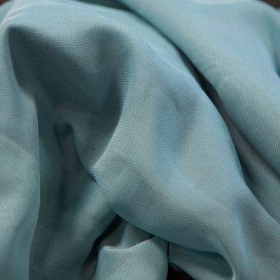 CHIFFON FABRIC DUSTY BLUE