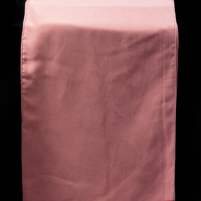 CHIFFON TABLE RUNNERS  DUSTY ROSE