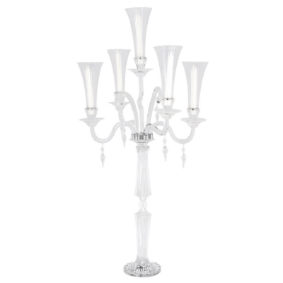 PRESTIGE CRYSTAL GLASS CANDELABRA CLT2806 CLEAR
