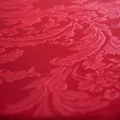 DAMASK 90X90 TABLECLOTHS GARNET
