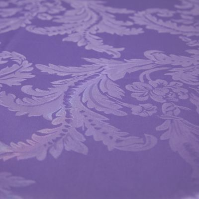 DAMASK TABLE CLOTHS 90 X 90 - ULTRA VIOLET