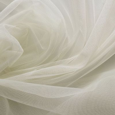 Tulle Fabric Roll 20m - Ivory