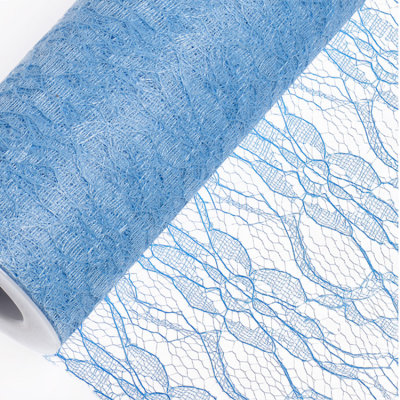 Lace Net Roll 15CM x 10M - Blue