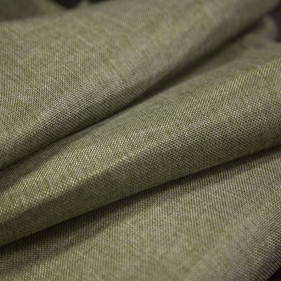 LINEN FABRIC PER METER BURNT OLIVE