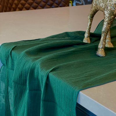 Cheesecloth Table Runner Hunter
