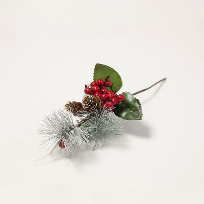 Christmas Frosted Pick - XMA1274